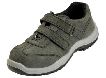Ladies Safety Shoes :BW 601A Grey