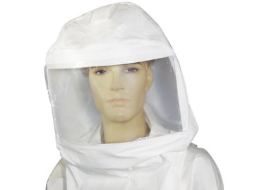 Chemical Suit With Splayed Air Line