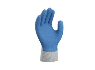 Knitted Polyester/Cotton Gloves Dipped With Natural Rubber